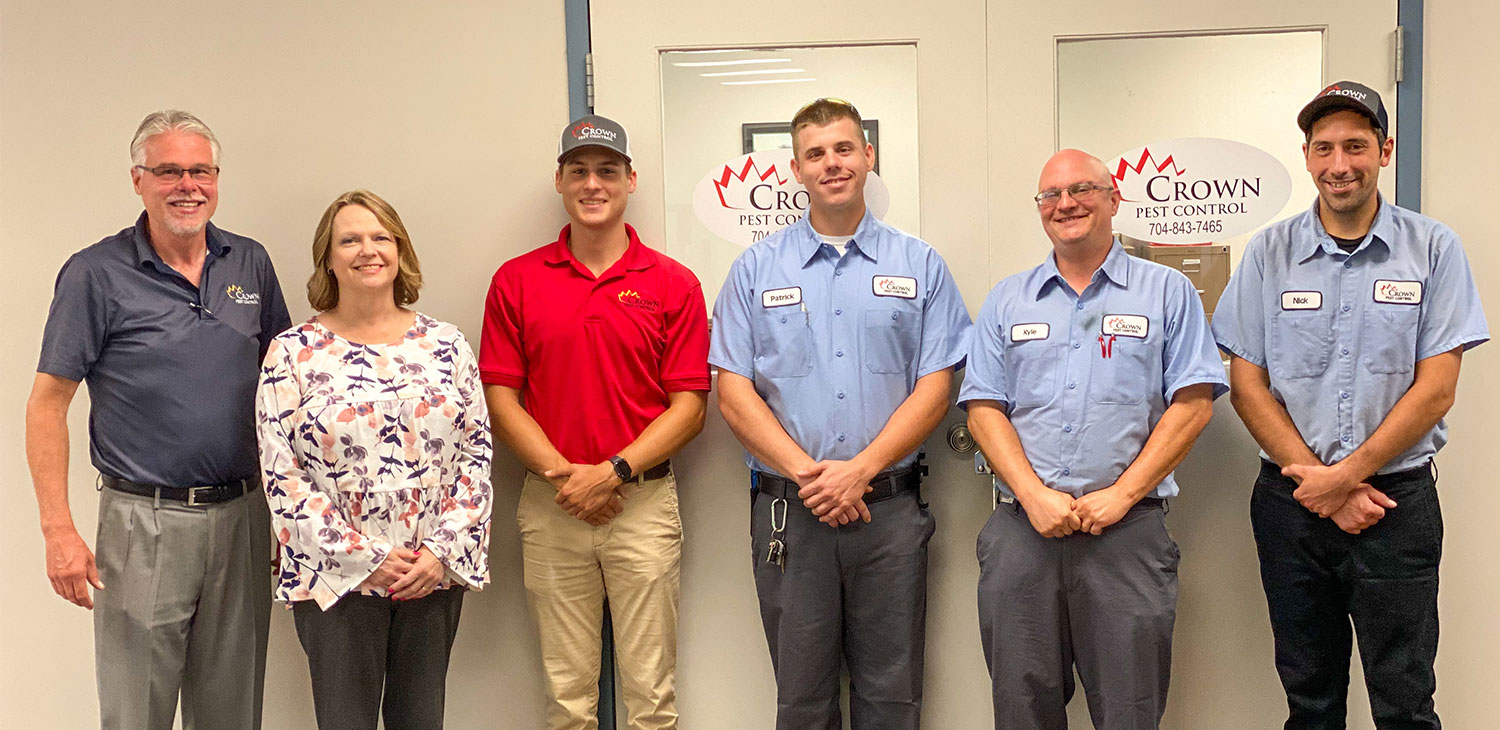 Staff at Crown Pest Control